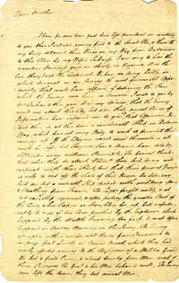 Letter from Mann Page, Jr. to John Page