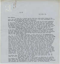 Letter from Gertrude Sanford Legendre, October 14, 1943