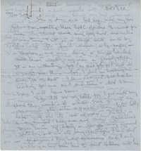 Letter from Gertrude Sanford Legendre, October 5, 1943