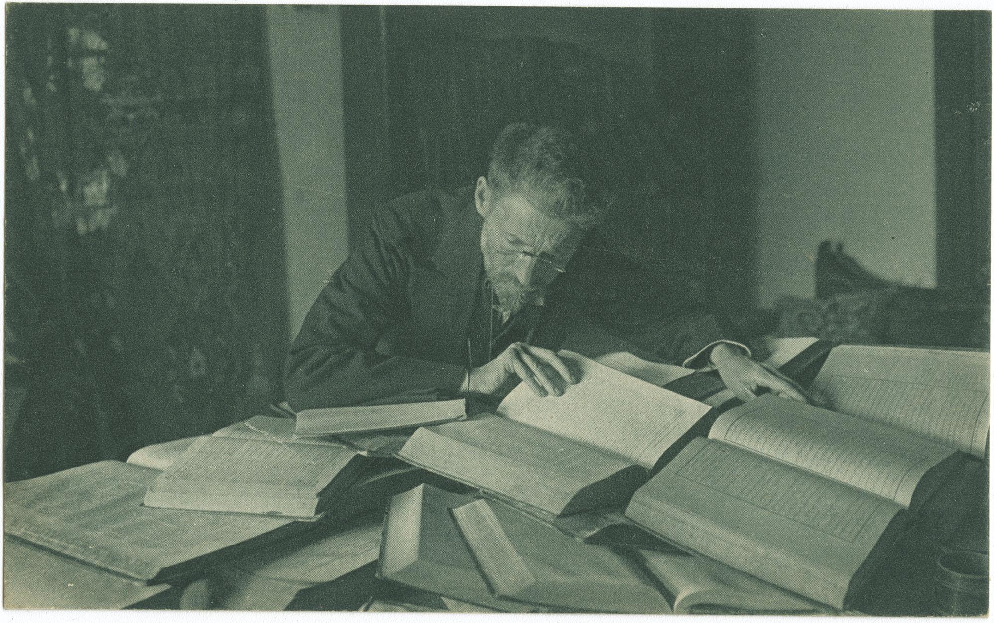 Eliazar Ben-Yehoda, the creater of the Hebrew Encyclopedia / אליעזר בן-יהודה
