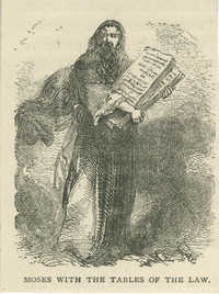 Moses with the Tables of the Law