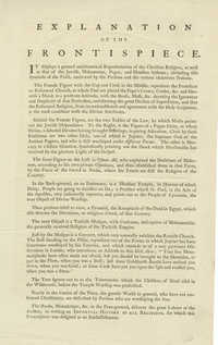 Explanation of the Frontispiece