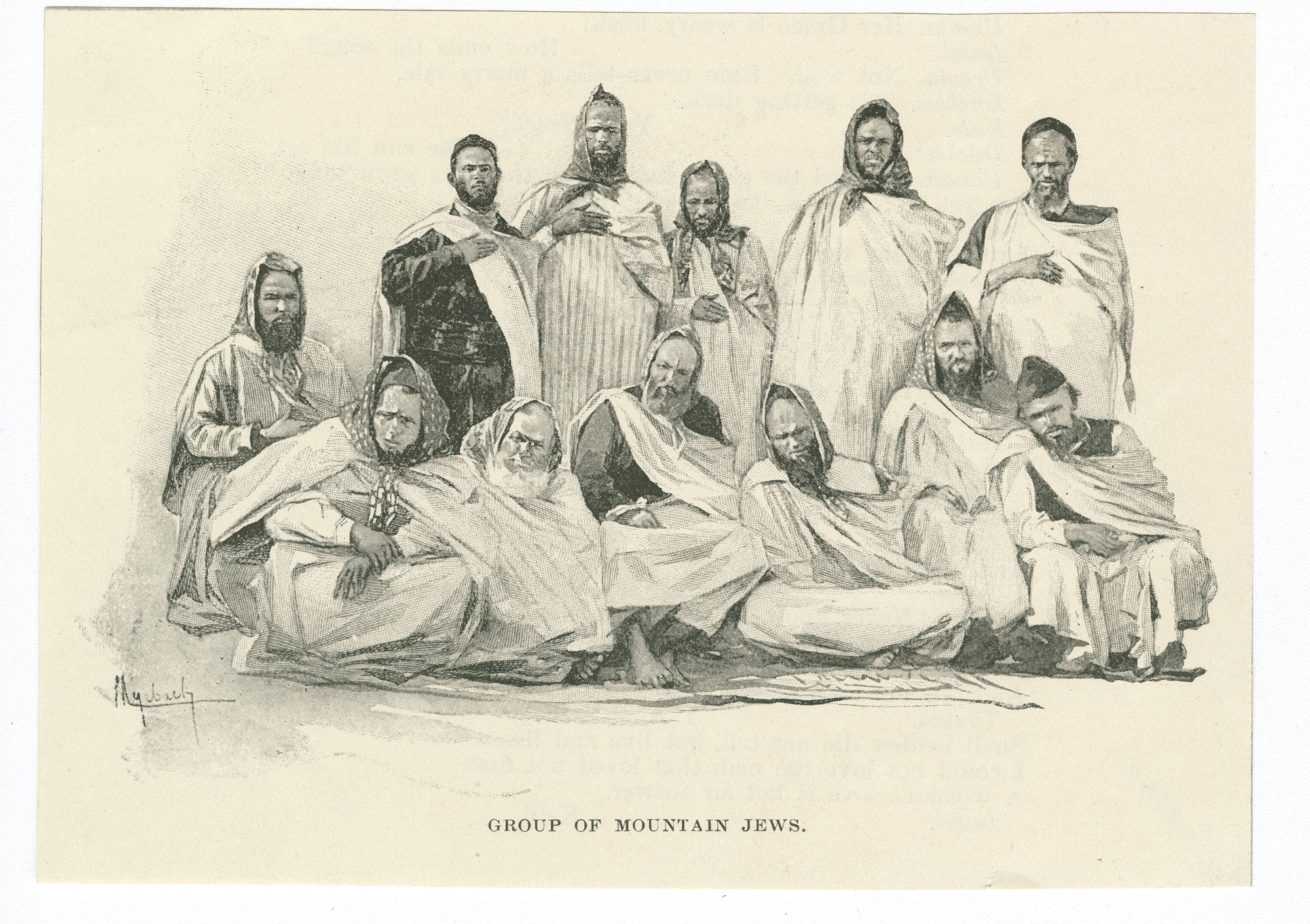 Group of mountain Jews