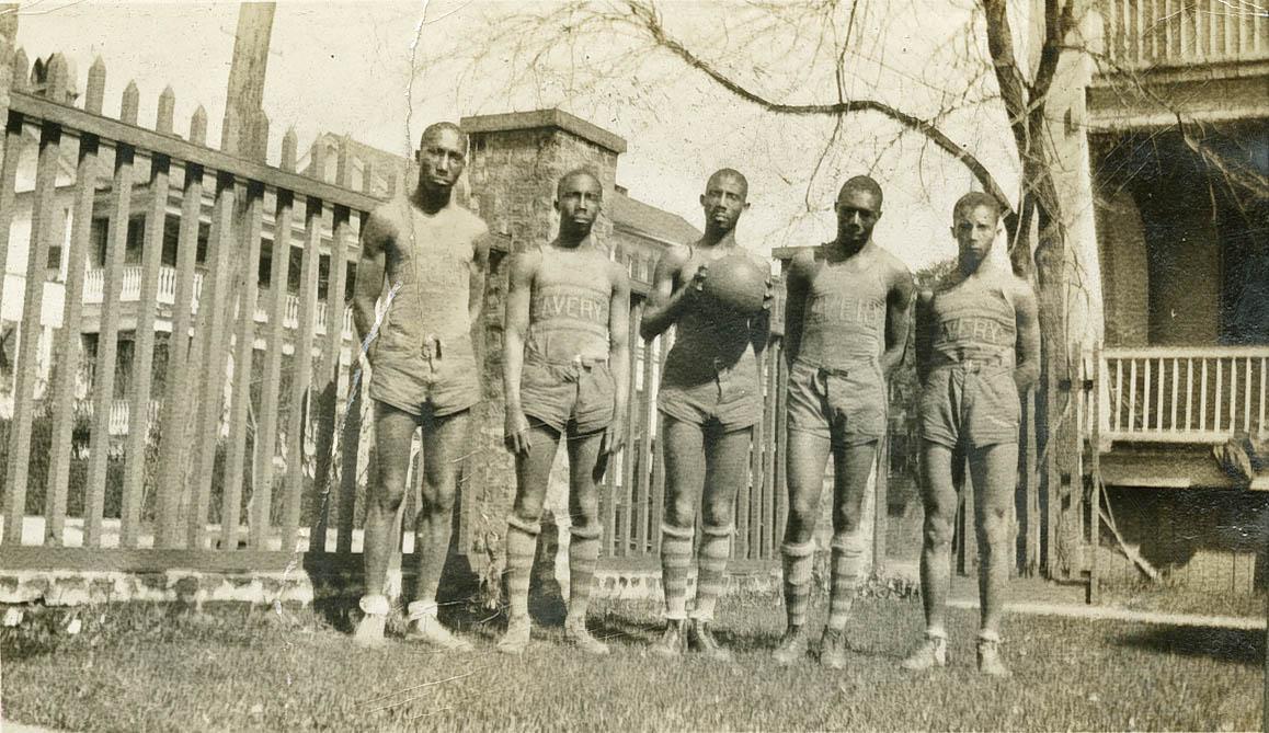 Members of Avery's Men's Basketball Team