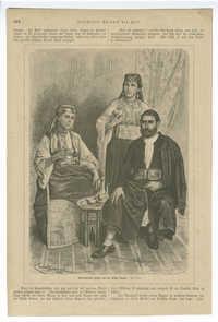 Marokkanische Juden aus der Stadt Tanger