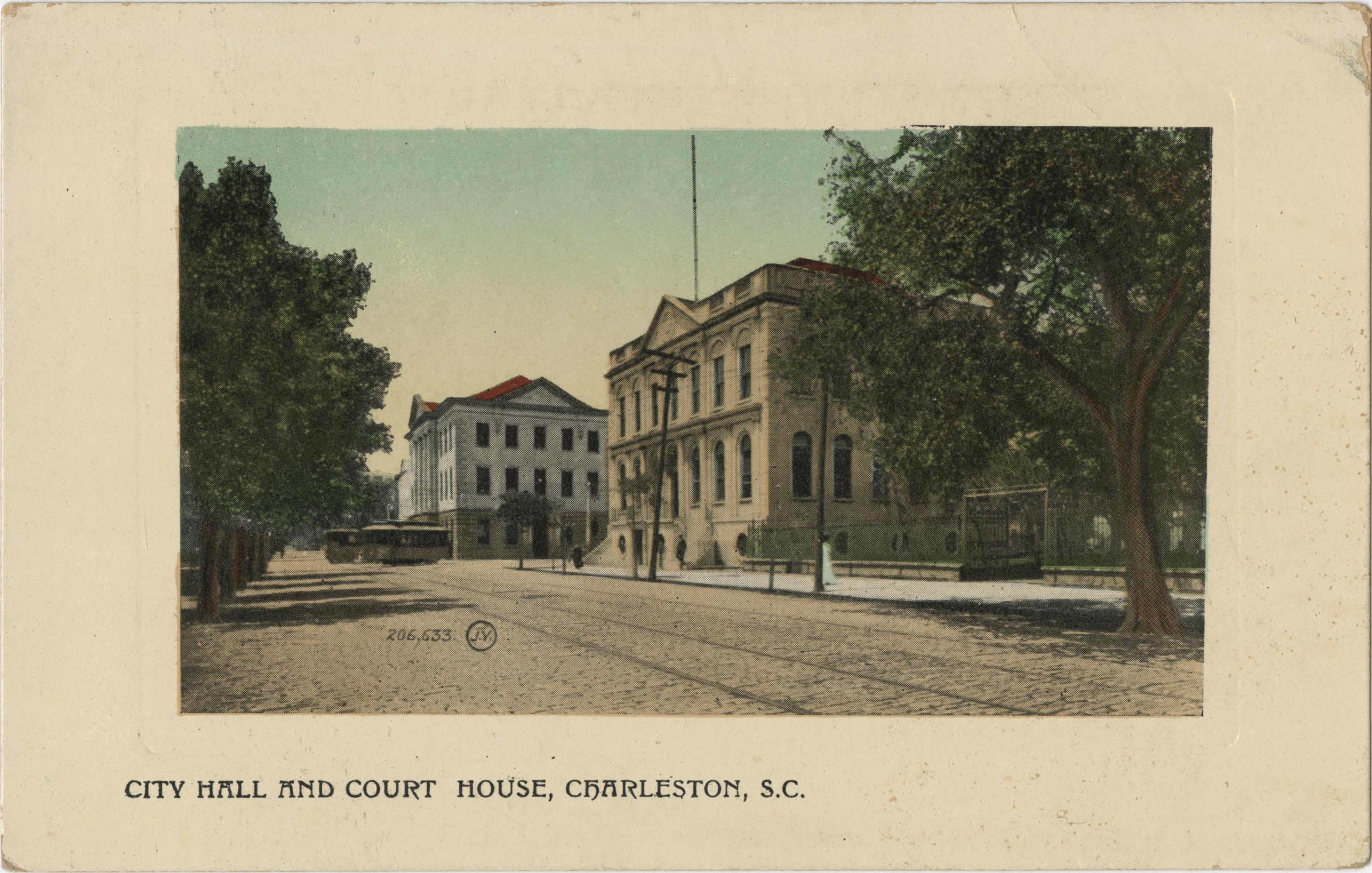City Hall and Court House, Charleston, S.C.