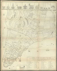 A plan of the city and environs of New York as they were in the years 1742-1743 and 1744
