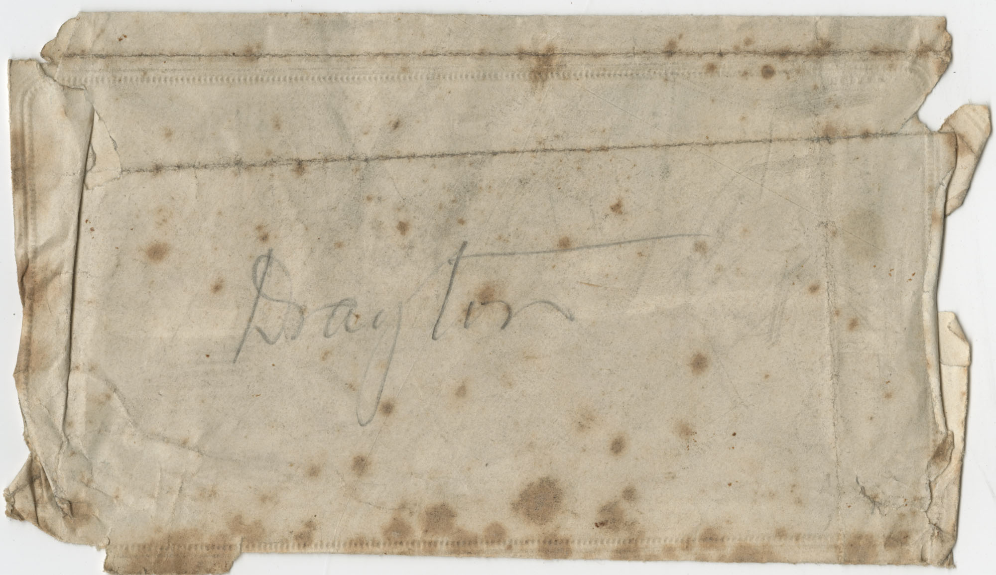 Undated letter by Theodore Drayton Grimke-Drayton to his son, Theodore Grimke Drayton [Jr.?]
