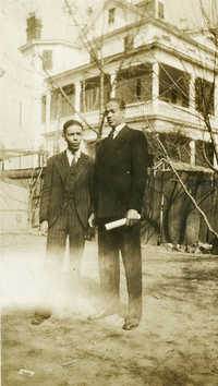 Avery Teachers A.W. Haursey and Oliver H. Poole