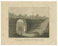 Eingang zu den Gräbern der Könige von Juda