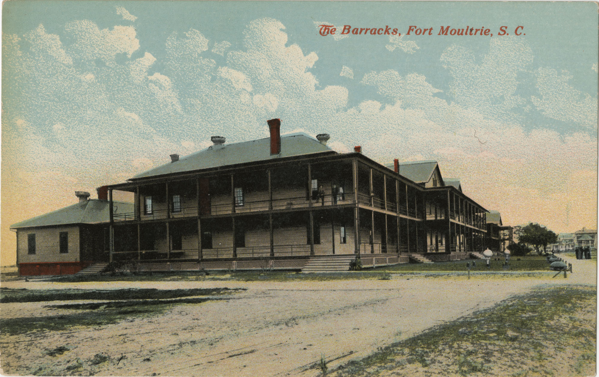 The Barracks, Fort Moultrie, S.C.