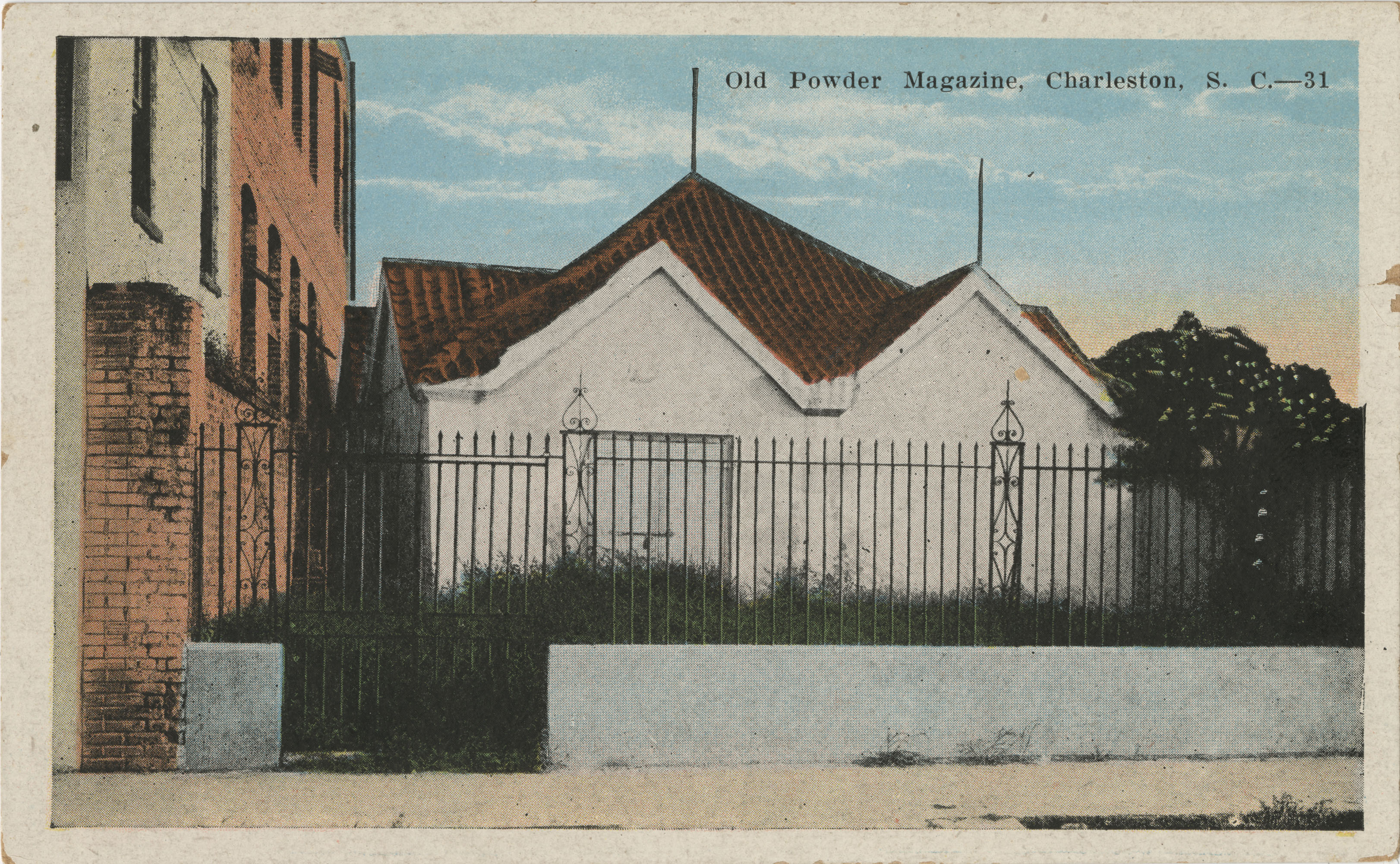 Old Powder Magazine, Charleston, S.C.