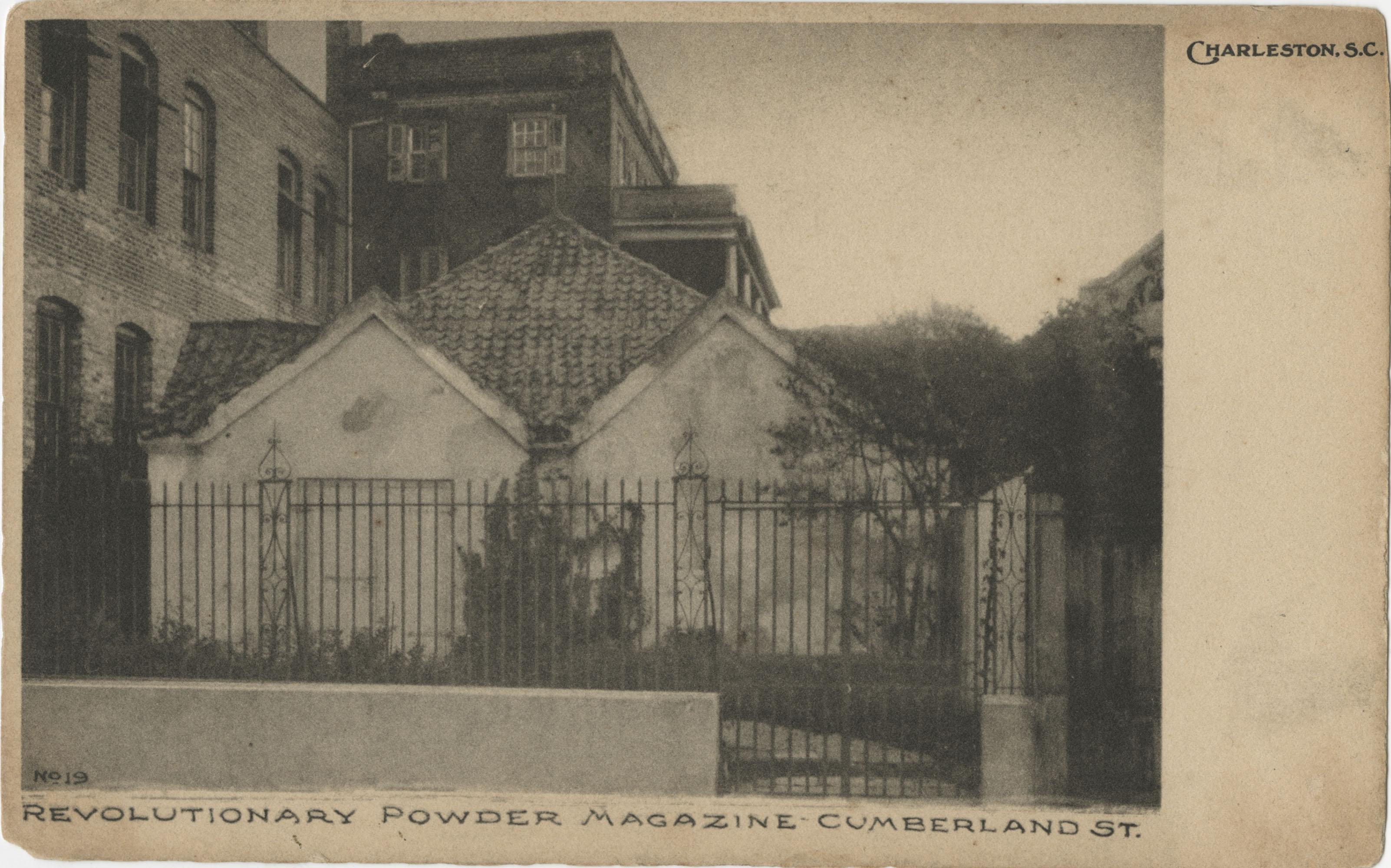 Revolutionary Powder Magazine Cumberland St. Charleston, S.C.