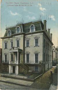 The Elk's Home, Charleston, S.C. Charleston Lodge No. 242, B.P.O. Elk