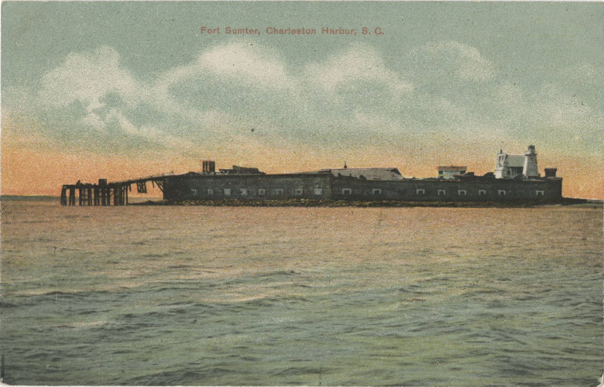Fort Sumter, Charleston Harbor, S.C.
