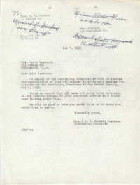 Letter from M. B. McNeil to Perry Seabrook, May 7, 1952