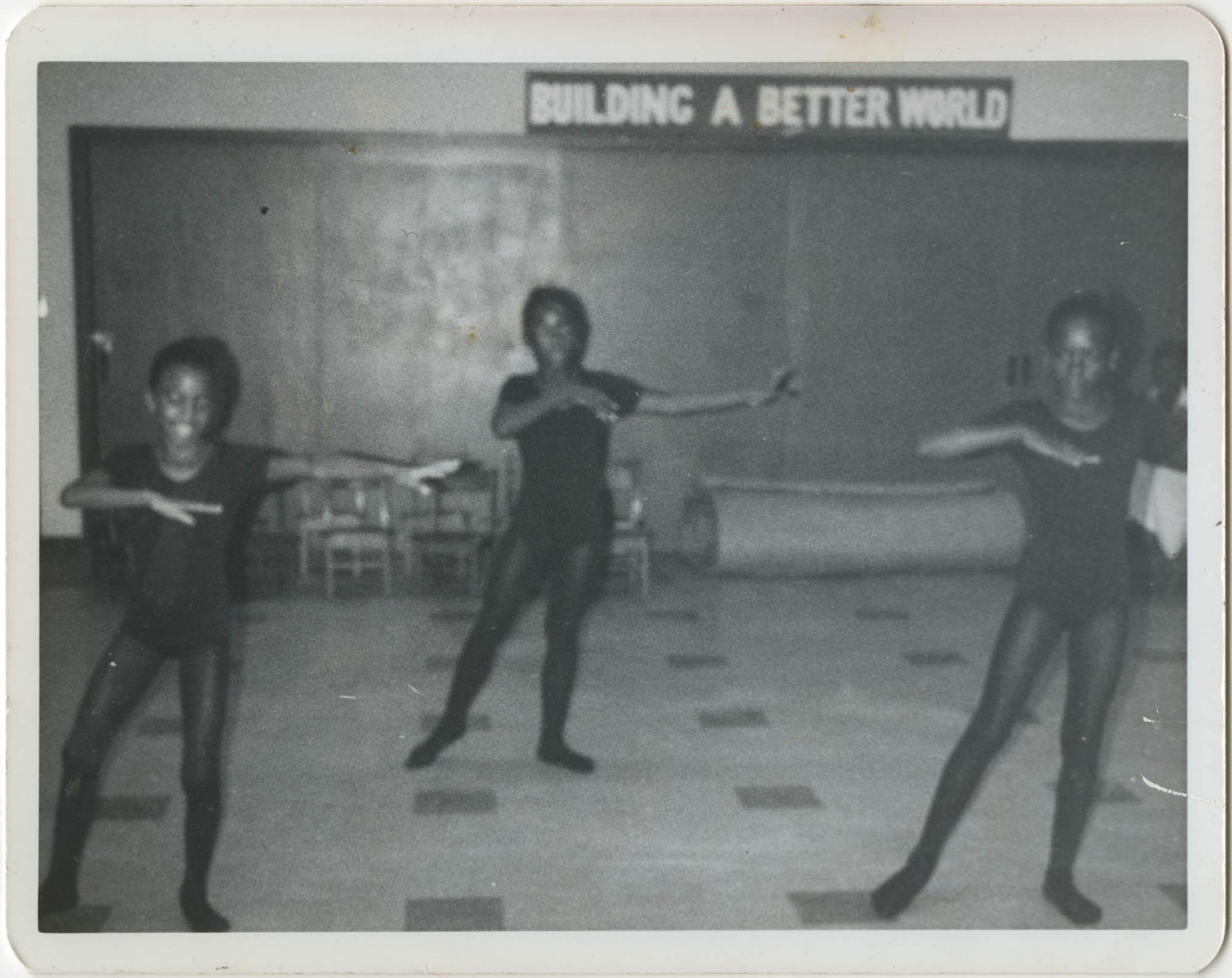 Photograph of Three Dancers
