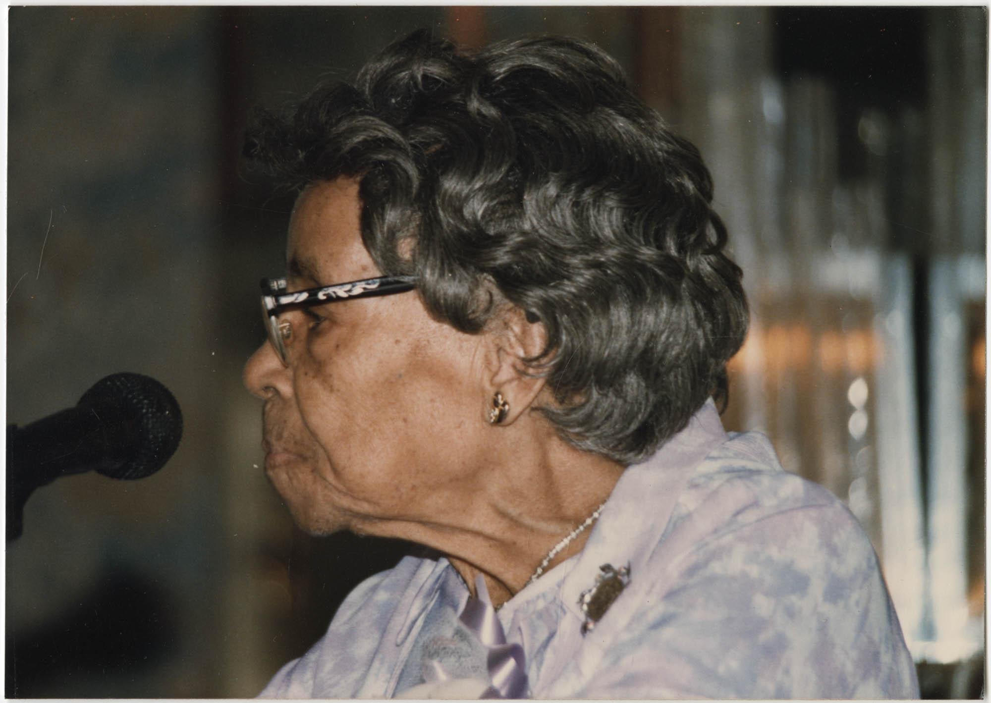 Photograph of Septima P. Clark