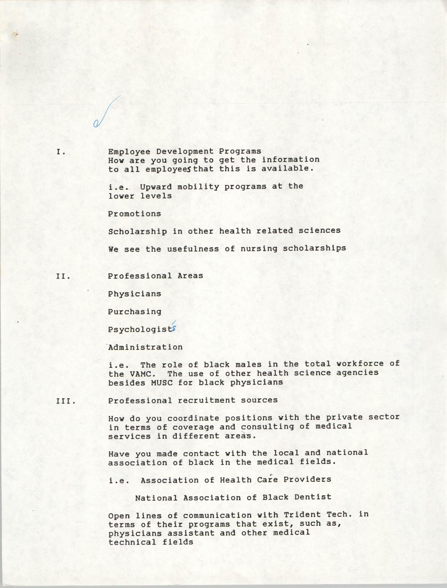 Employment Checklist