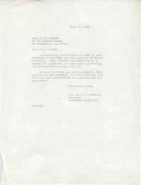 Letter from Mrs. G. P. Singleton to Virginia B. Alsten, July 22, 1966