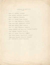 Committee of Management for 1938, Coming Street Y.W.C.A.