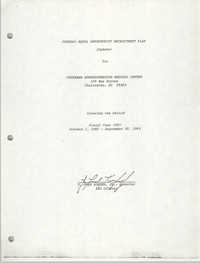 Federal Equal Opportunity Recruitment Plan (Update) for Veterans Administration Medical Center, Fiscal Year 1983
