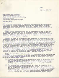 Letter from Mrs. John C. Hawk to Mrs. Joseph King, November 27, 1967