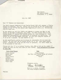 Letter from Mrs. M. A. Wilds, July 10, 1967