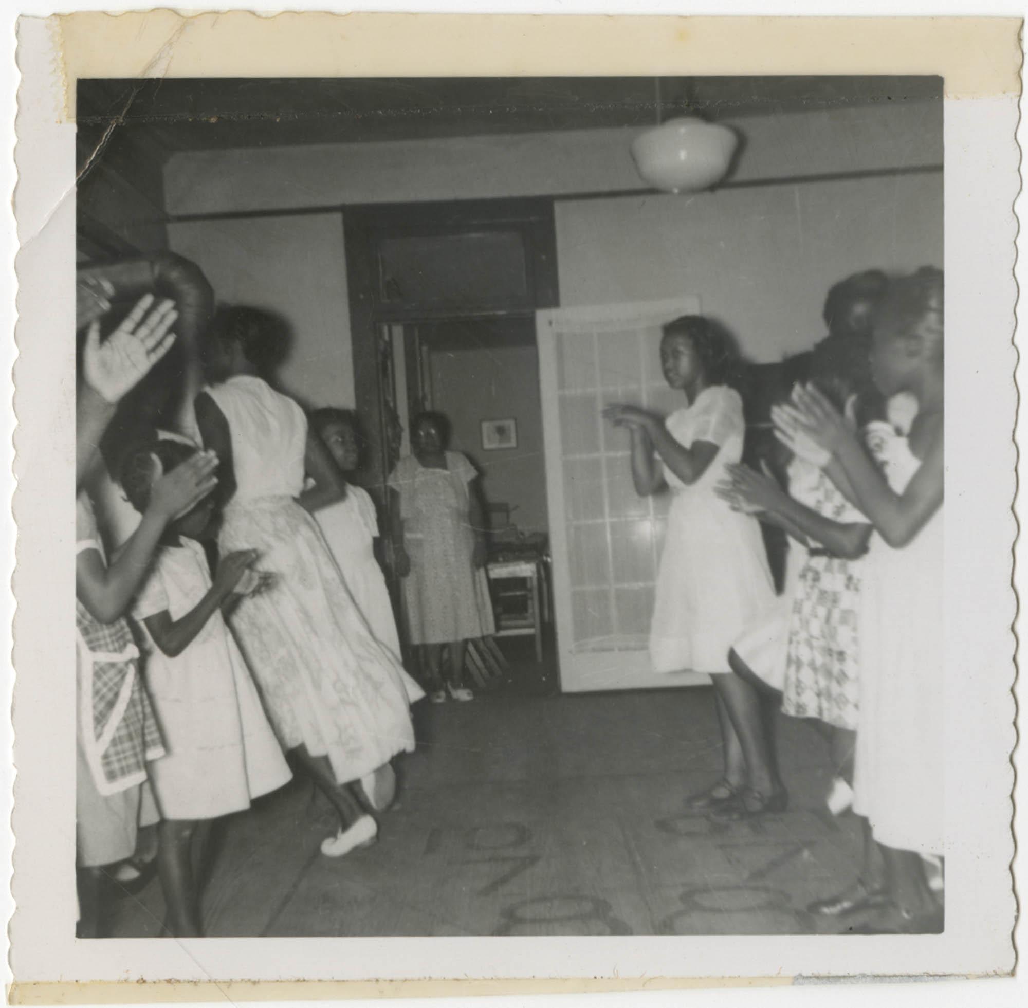 Photograph of Y.W.C.A. Children