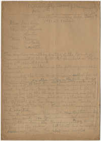 Minutes to the Board of Management, Coming Street Y.W.C.A., November 5, 1920