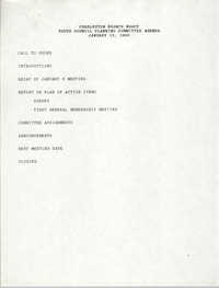 Youth Council Planning Committee, Charleston Branch NAACP, January 13, 1990