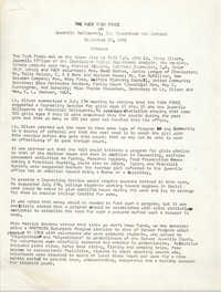 Minutes to Y.W.C.A. of Greater Charleston Task Force, September 30, 1971