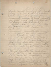 Minutes to the Board of Management, Coming Street Y.W.C.A., November 8, 1940