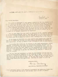 Letter from Anna Seaburg, October 1934
