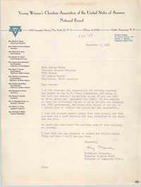 Letter from Kathaleen Carpenter to Amanda Keith, September 8, 1949