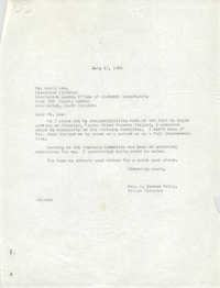 Letter from Anna D. Kelly to David Cox, July 12, 1966