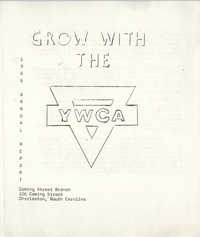 Annual Report, Coming Street Y.W.C.A., 1966