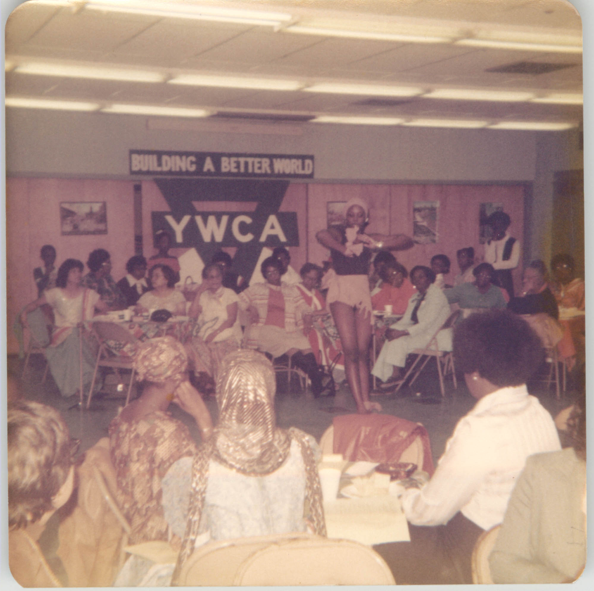 Photograph of a Y.W.C.A. Performance