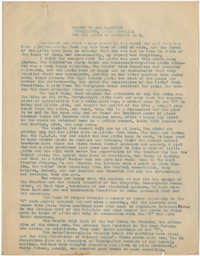 Coming Street Y.W.C.A. Report for November 1920