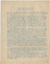 Coming Street Y.W.C.A. Report for June 1920