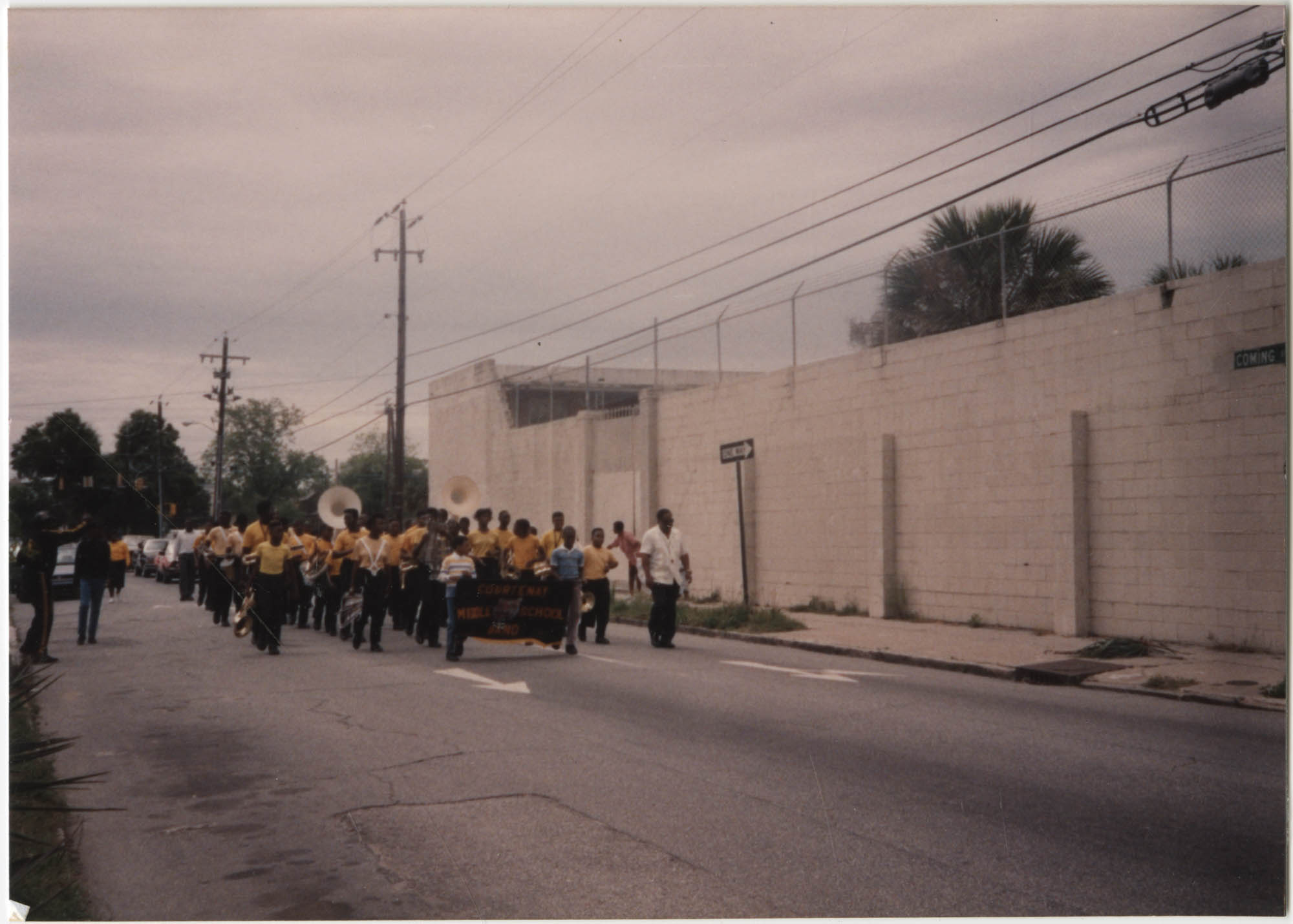 Photograph of a Marching Band