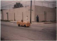 Photograph of a Soapbox Car