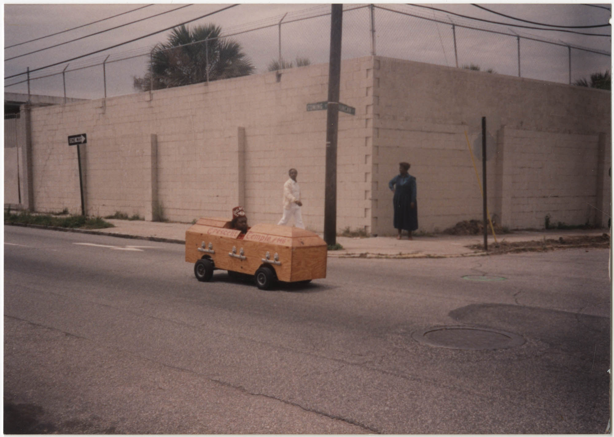 Photograph of a Soapbox Car