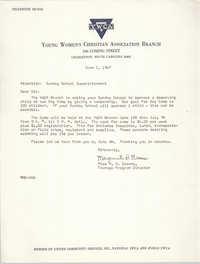 Letter from Marguerite D. Greene, June 1, 1967