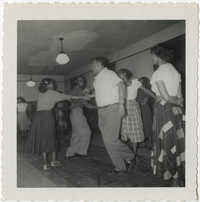 Photograph of Square Dance Class, December 4, 1951