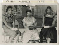 Photgraph of Easter Service 1958