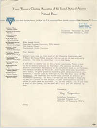 Letter from Kathaleen Carpenter to Amanda Keith, October 4, 1949