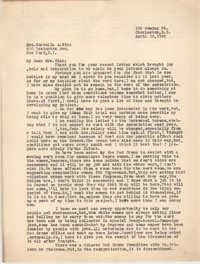 Letter from Ella L. Smyrl to Cordella A. Winn, April 19, 1932