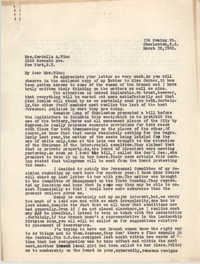 Letter from Ella L. Smyrl to Cordella A. Winn, March 18, 1932