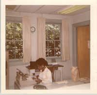 Photograph of a Woman in an Office